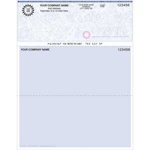 Preprinted Checks
